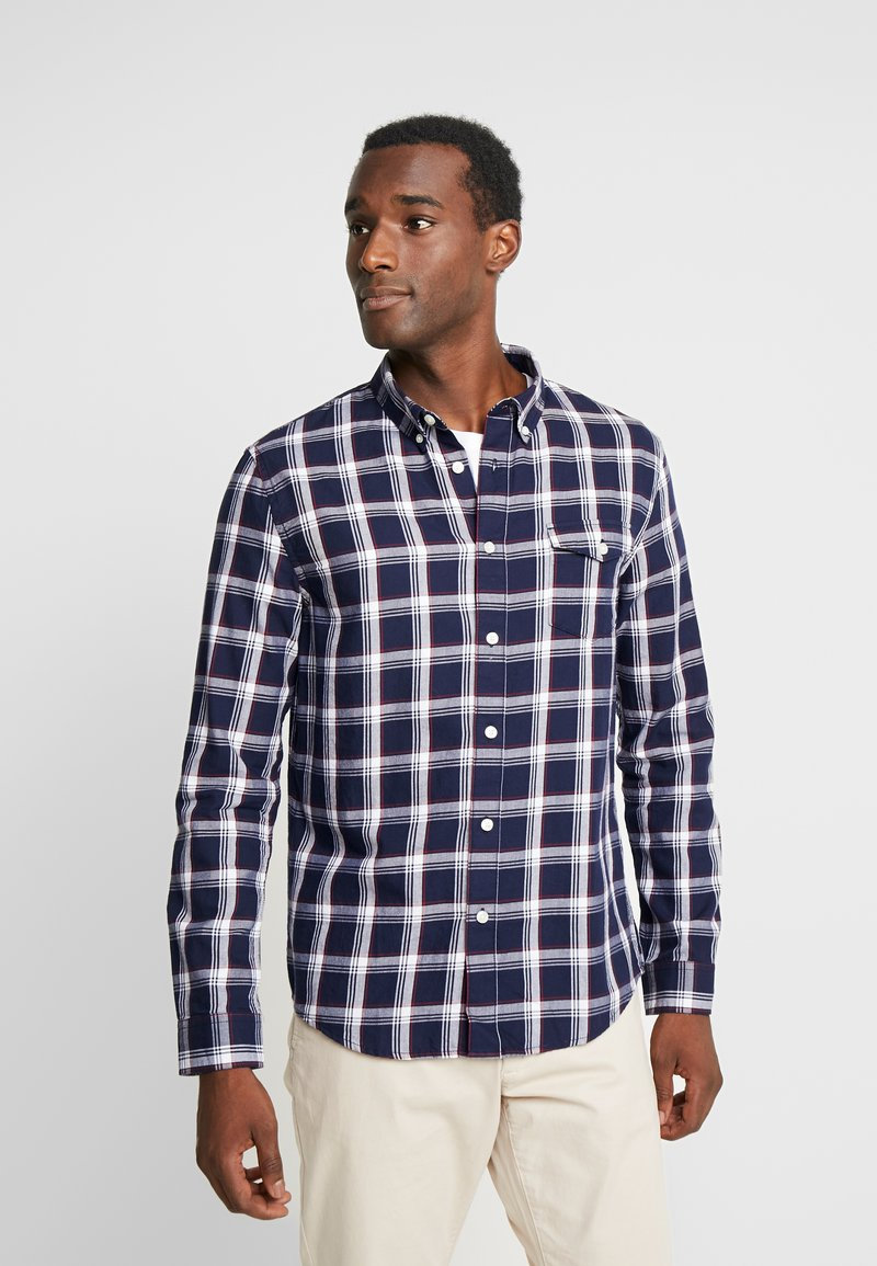 Pier One - CASUAL CHECK  - Camisa - black