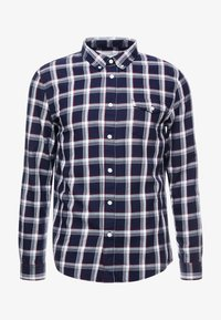 Pier One - CASUAL CHECK  - Camisa - black - 3
