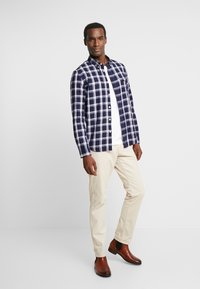 Pier One - CASUAL CHECK  - Camisa - black - 1