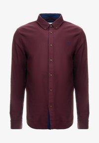 Pier One - Shirt - bordeaux - 4