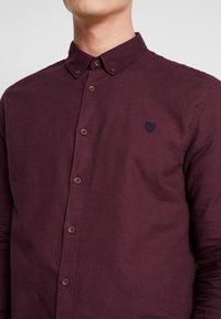 Pier One - Shirt - bordeaux - 5