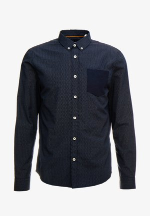 CONTRAST POCKET SHIRT - Camisa - dark blue