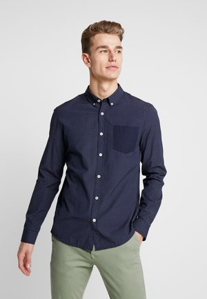 CONTRAST POCKET SHIRT - Koszula - dark blue