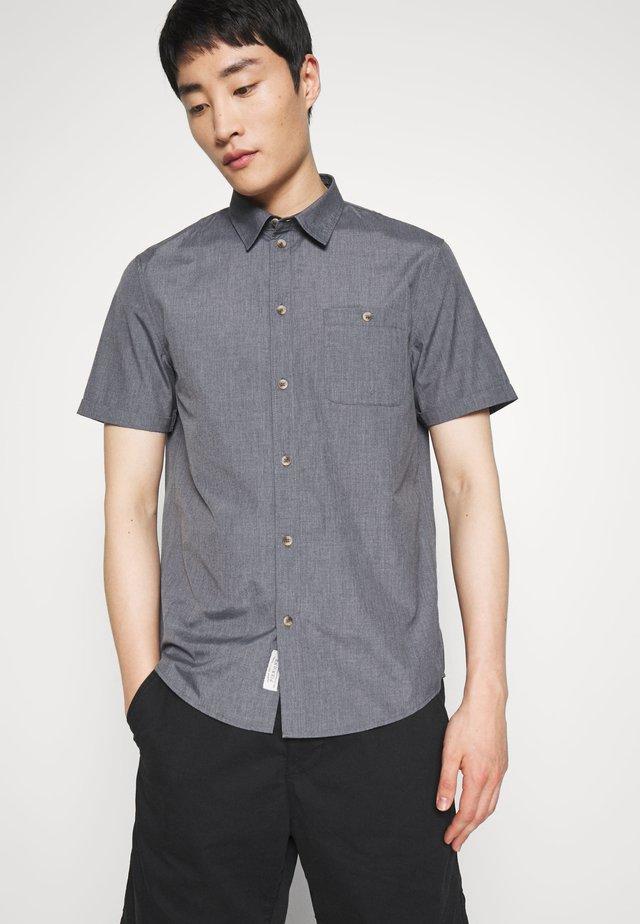 Hemd - mottled dark grey