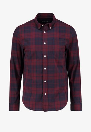 Camisa - dark blue/bordeaux