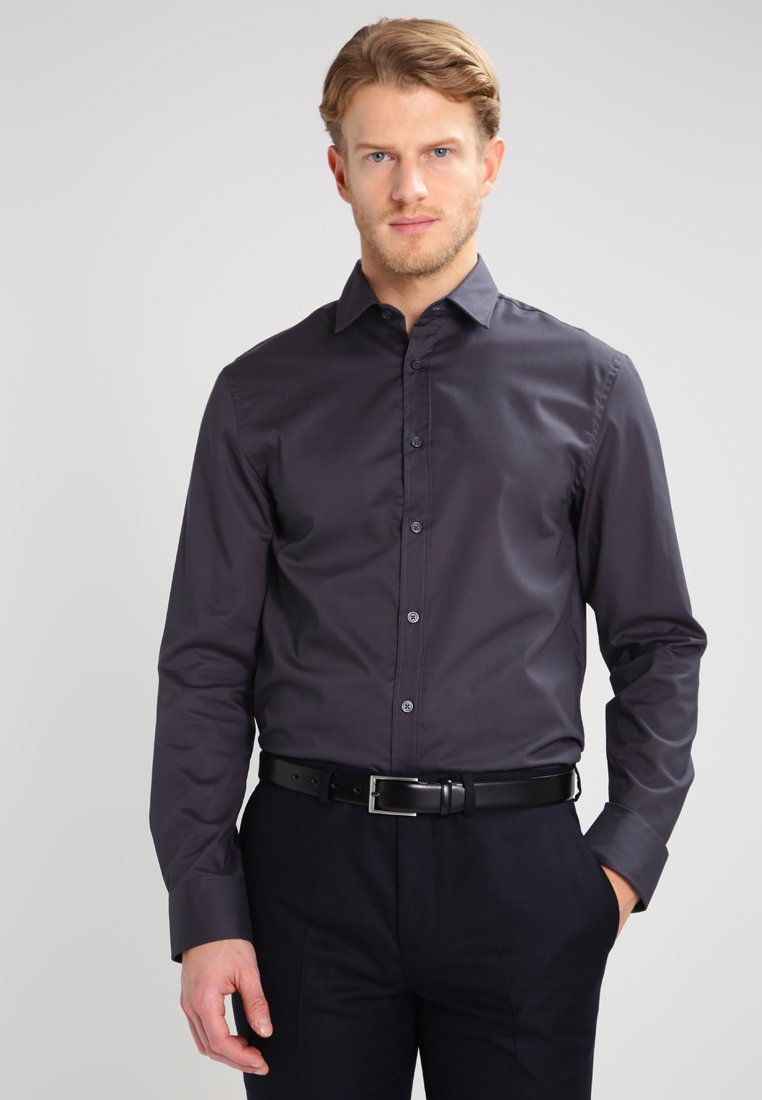 Pier One - Formal shirt - dark grey