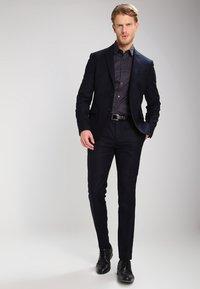 Pier One - Formal shirt - dark grey - 1