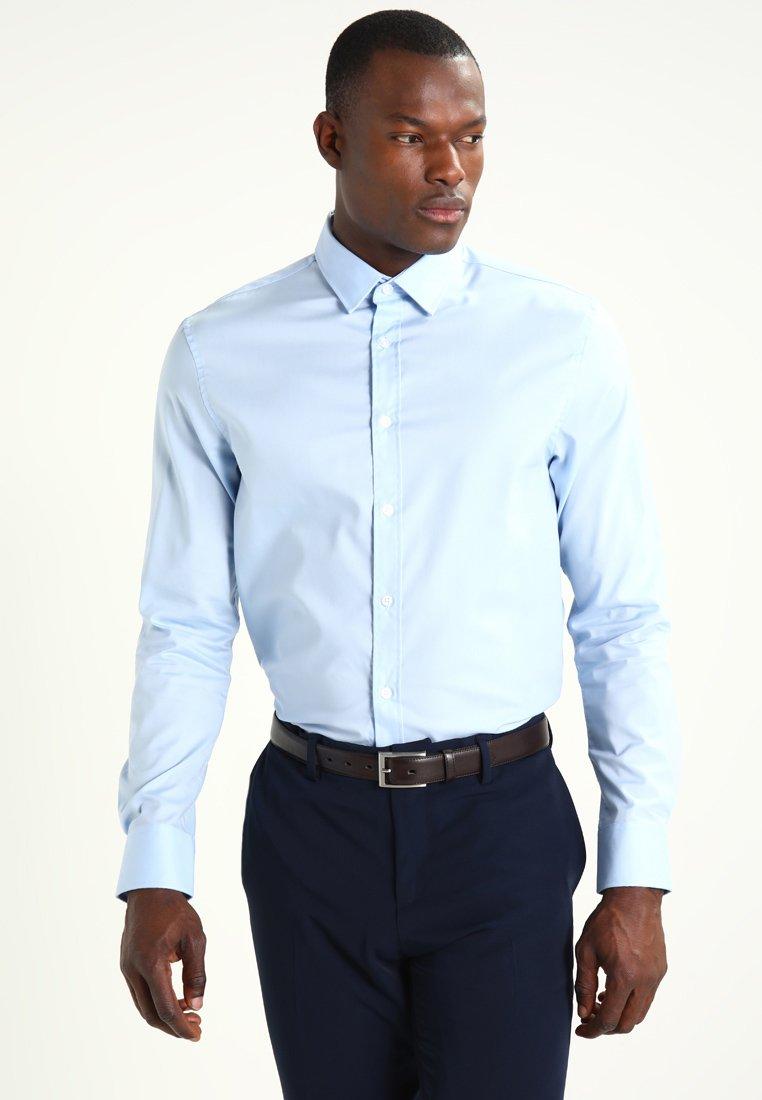 Pier One Koszula biznesowa - light blue