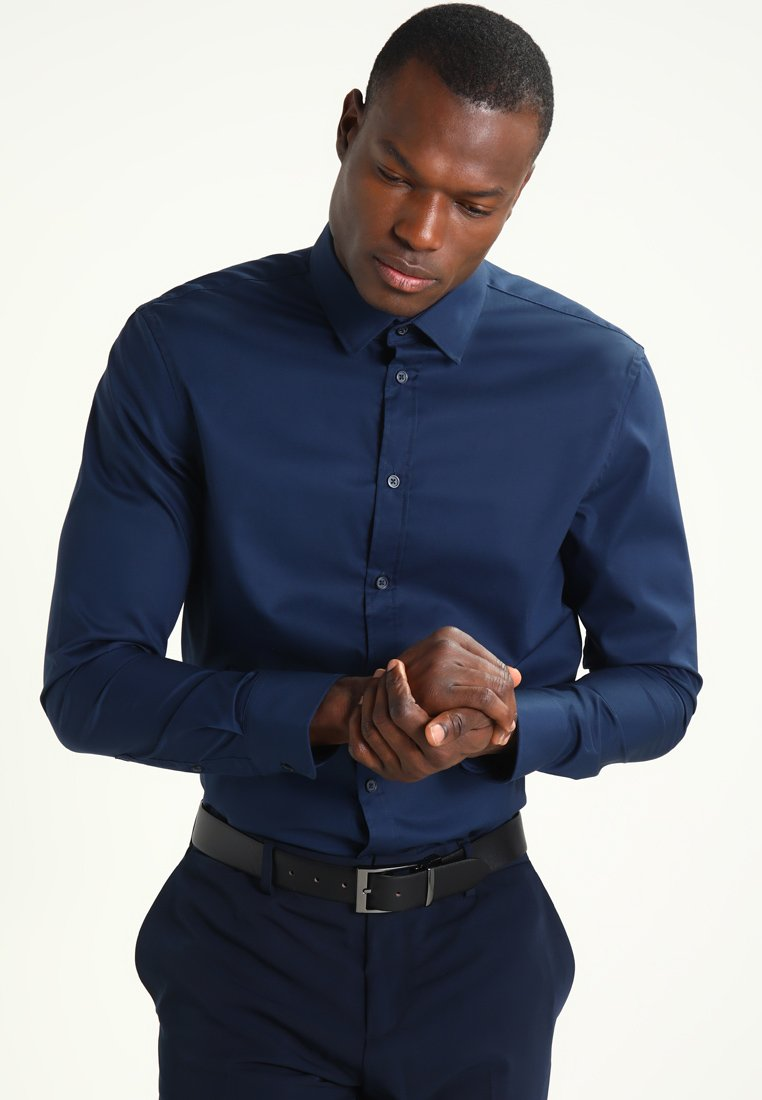 Pier One - Formal shirt - dark blue