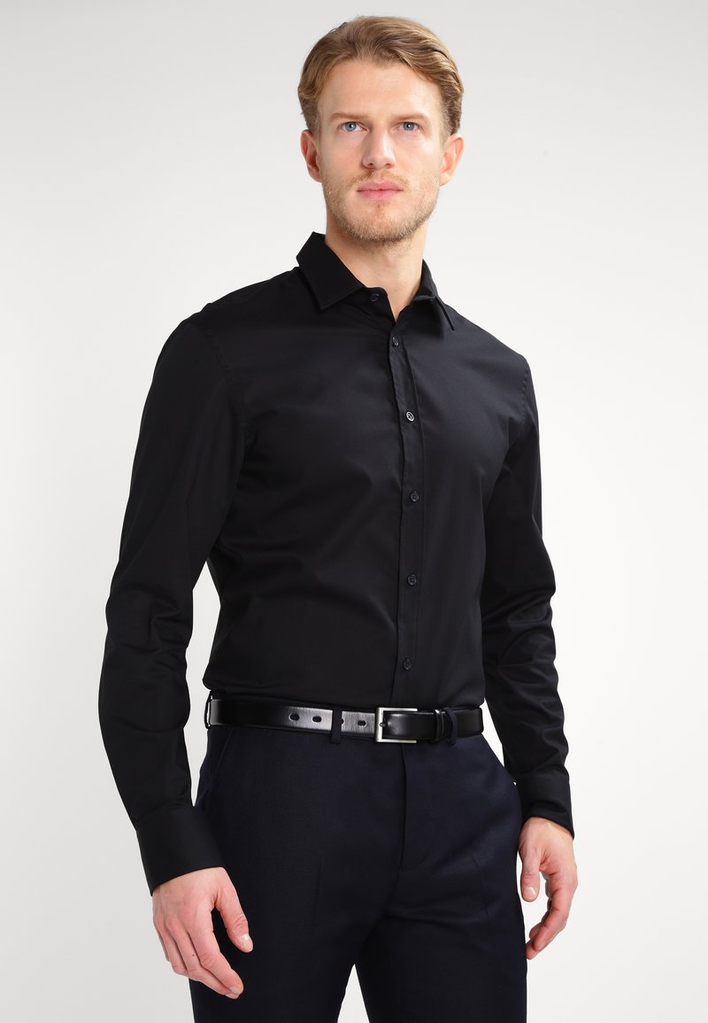 Pier One - Formal shirt - black