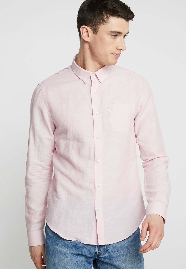 Pier One - BUTTON DOWN - Hemd - rose