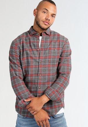 Shirt - grey/coral