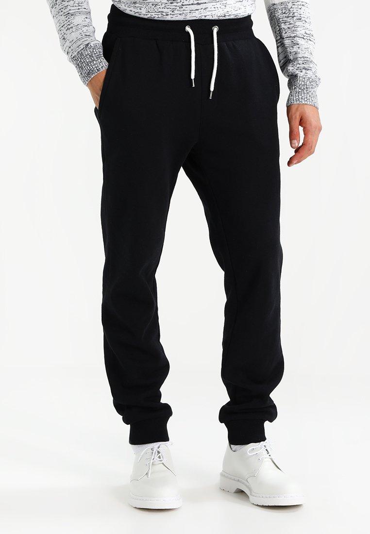 Pier One - Tracksuit bottoms - black
