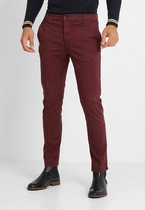 Chino kalhoty - bordeaux