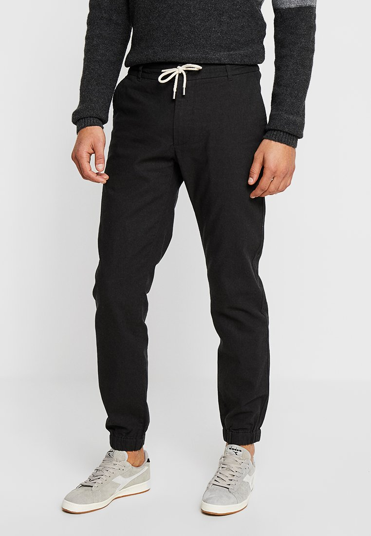 Pier One - Pantalones - black