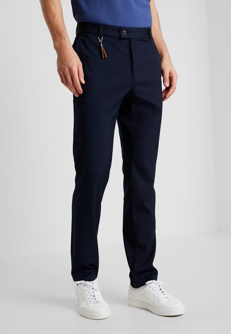 Pier One - Trousers - dark blue