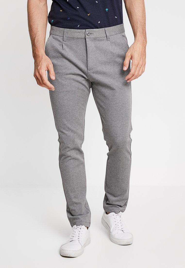 Pier One - Trousers - mottled grey