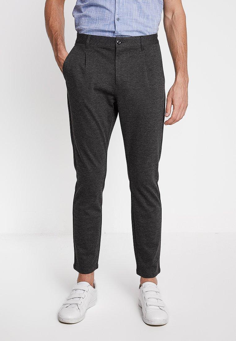 Pier One - Spodnie materiałowe - mottled black