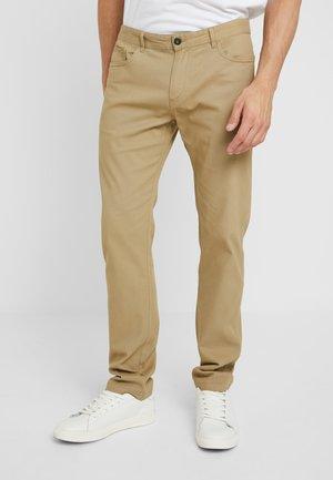 Spodnie materiałowe - tan