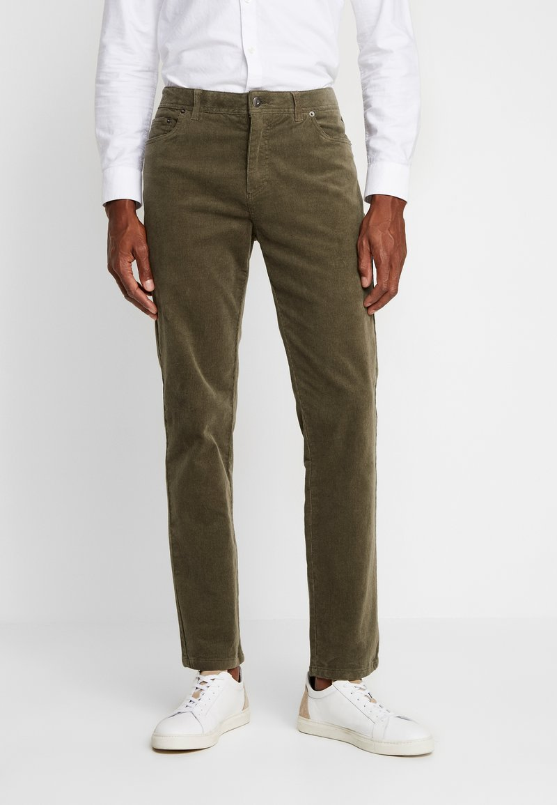 Pier One - Trousers -  oliv