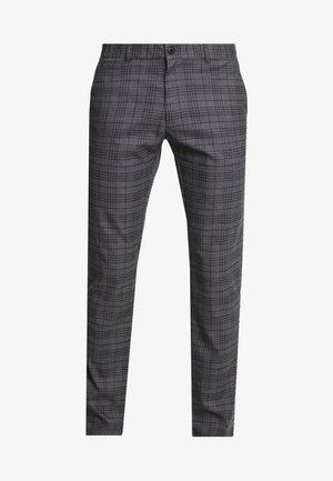 Pantalon classique - mottled grey