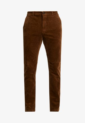 Pantalones - cognac