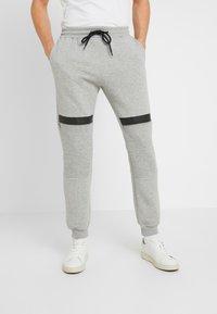 Pier One - Teplákové kalhoty - mottled grey - 0