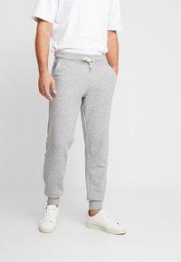 Pier One - Pantaloni sportivi - mottled light grey - 0