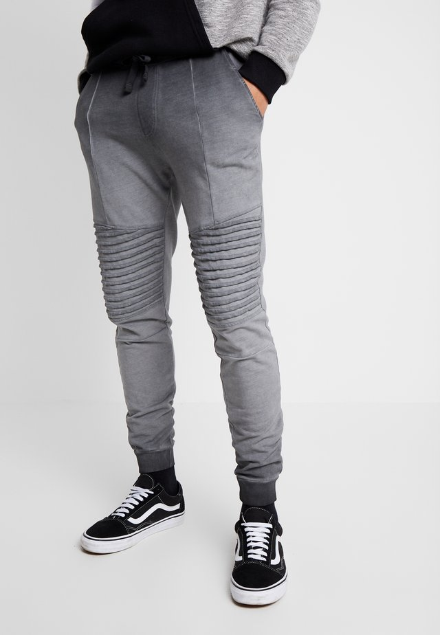 WASHED BIKER  - Jogginghose - grey