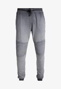 Pier One - WASHED BIKER  - Teplákové kalhoty - grey - 5