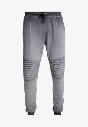 WASHED BIKER  - Teplákové kalhoty - grey