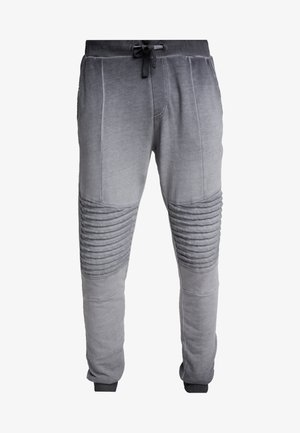 WASHED BIKER  - Träningsbyxor - grey