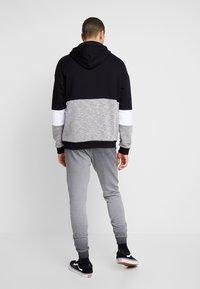 Pier One - WASHED BIKER  - Teplákové kalhoty - grey - 2