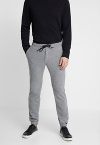Pier One - Tracksuit bottoms - grey - 0