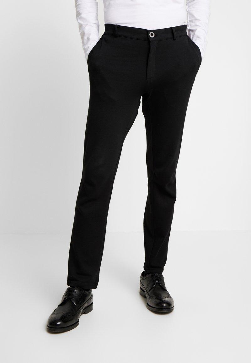Pier One - Pantalon classique - black