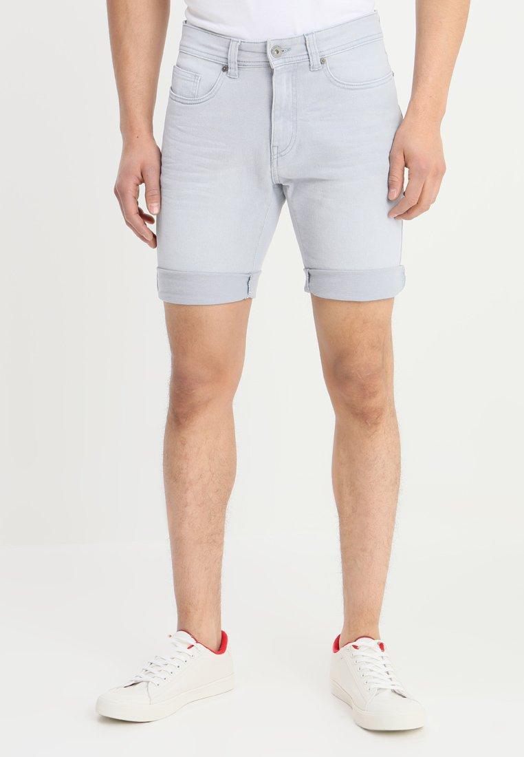 Pier One - Jeans Shorts - light blue