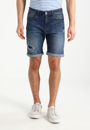 Jeans Short / cowboy shorts - dark-blue denim