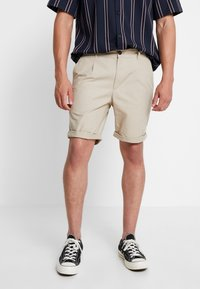 Pier One - Shorts - beige - 0