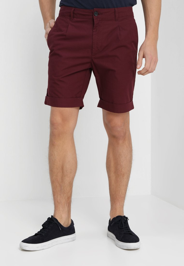 Pier One - Shorts - bordeaux
