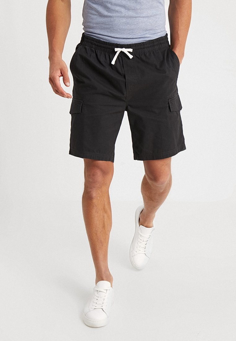 Pier One - Shorts - schwarz