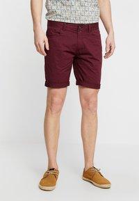 Pier One - Shorts - bordeaux - 0