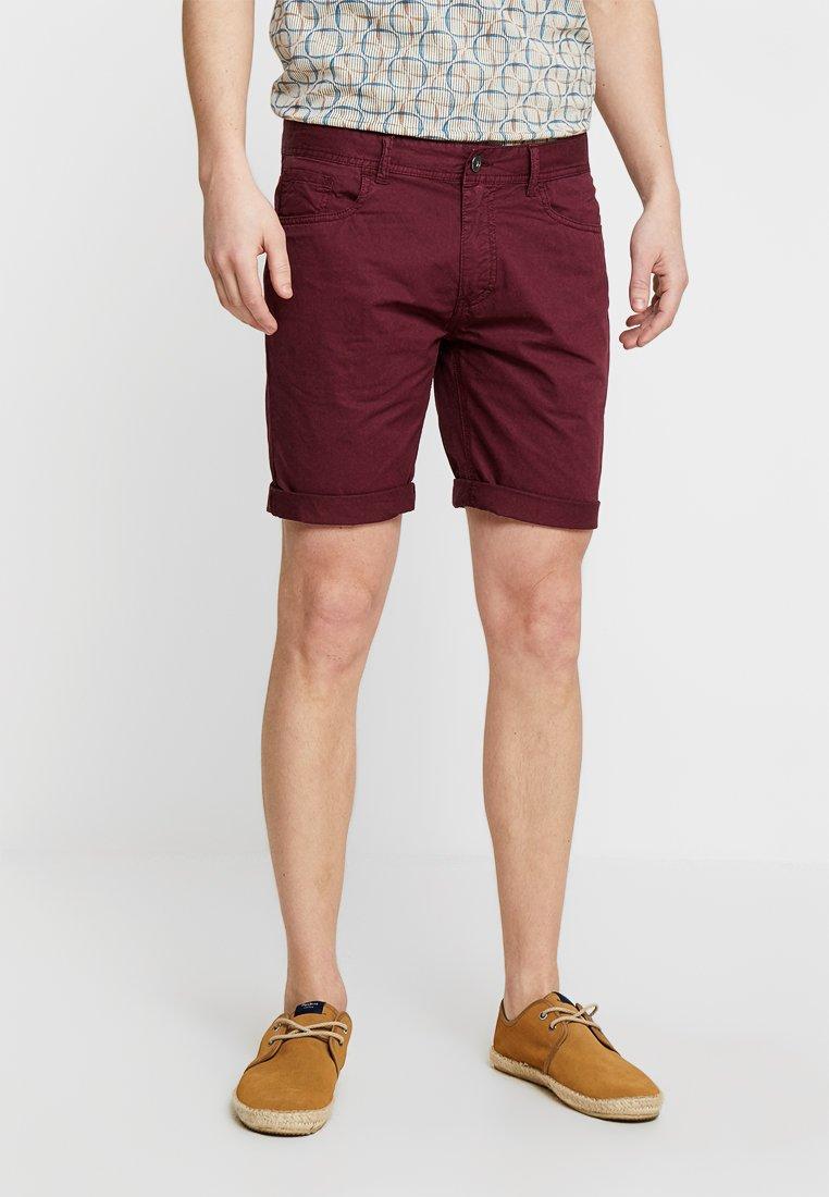 Pier One - Shorts - bordeaux