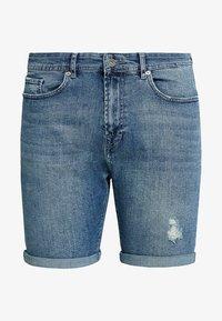 Pier One - Jeansshort - blue denim - 4