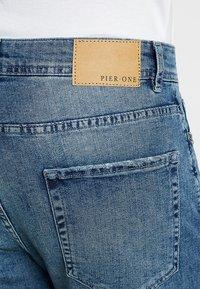 Pier One - Jeansshort - blue denim - 3