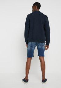 Pier One - Szorty jeansowe - blue denim - 2