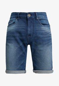 Pier One - Szorty jeansowe - blue denim - 4