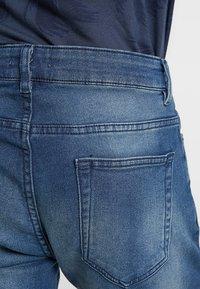 Pier One - Szorty jeansowe - blue denim - 5