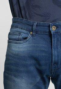 Pier One - Szorty jeansowe - blue denim - 3