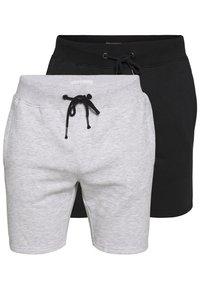 Pier One - Teplákové kalhoty -  light grey /black - 0