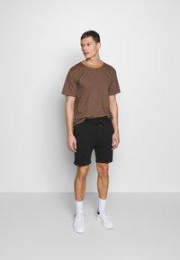 Pier One - Teplákové kalhoty -  light grey /black - 1